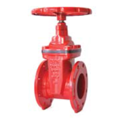 BS5163 Resilient seated NRS gate valve-flange end